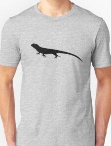 Lizard Silhouette Unisex T-Shirt