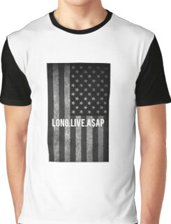 ASAP ROCKY FLAG Graphic T-Shirt