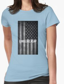 ASAP ROCKY FLAG Womens Fitted T-Shirt