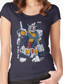 Gundam Love Women's Fitted Scoop T-Shirt