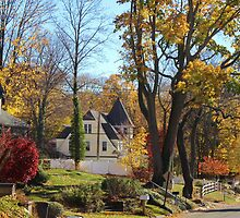 Autumn in Centerport by Gilda Axelrod
