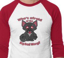 Who's Afraid of the Big Bad Worg?  Men's Baseball ¾ T-Shirt