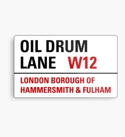 Oil Drum Lane - Steptoe & Son Metal Print