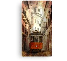 LISBON LIGHT RAIL Canvas Print