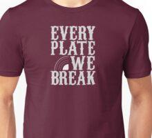 everyplatewebreak - logo Unisex T-Shirt