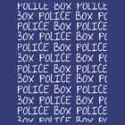 the POLICE BOX shirt by kayeskew