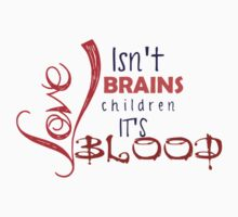 Love isn't Brains Spike Quote by bookwormbeccy