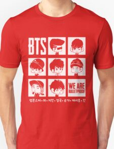 BTS WE ARE BULLETPROOF Chibi T-Shirt