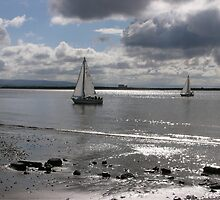Yachts, Burnham-on-Sea. by Antony R James