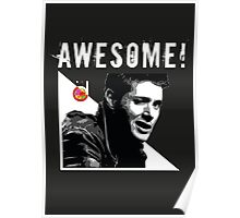 Dean Winchester from Supernatural Awesome Poster
