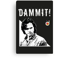 Sam Winchester from Supernatural Canvas Print
