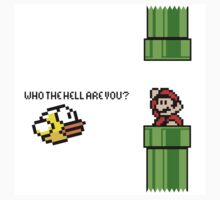 Flappy Mario (Sticker) by Violentsofa