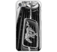 1966 Ford Mustang K-Code iPhone Case/Skin