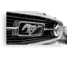 1966 Ford Mustang K-Code Canvas Print