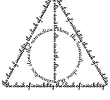 Deathly Hallows Words  by kdm1298