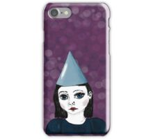 Lonely Girl's purple party iPhone Case/Skin
