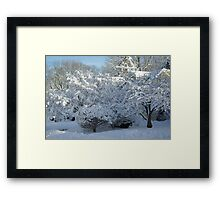 Enough already! Framed Print