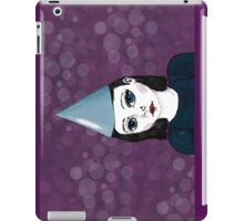 Lonely Girl's purple party iPad Case/Skin