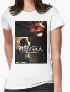 Attack On titan's Epicness Womens Fitted T-Shirt