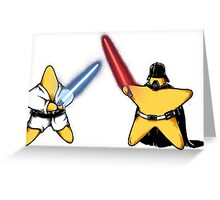 'star wars' Greeting Card