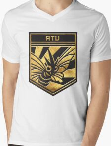 """ATU!"" Twitch Plays Pokemon Merchandise! Mens V-Neck T-Shirt"