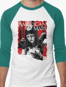 American Mary Men's Baseball ¾ T-Shirt