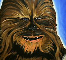 Happy Wookiee by Scotty Richard