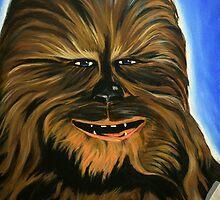Happy Wookiee by Scotty Richard
