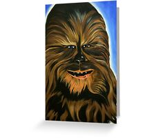Happy Wookiee Greeting Card