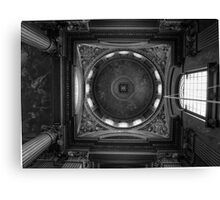 Painted ceiling Canvas Print