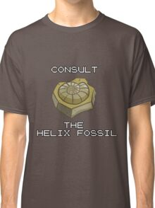 CONSULT THE HELIX FOSSIL Classic T-Shirt
