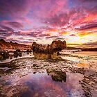 Crags Sunrise by hangingpixels