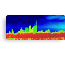 Toronto Skyline in Colors Canvas Print