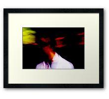 Mixed Face Framed Print