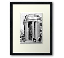 Danforth and Broadview CIBC Building Framed Print