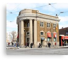 Danforth and Broadview CIBC Building Canvas Print