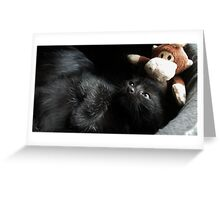 Little Monkeys Greeting Card