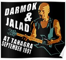 Darmok & Jalad at Tanagra (Black)  ST TnG Poster