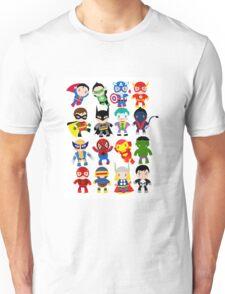 super heros Unisex T-Shirt