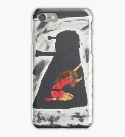 Oswin and the Dalek iPhone Case/Skin