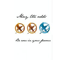 May the odds be ever in your favour  by Amy Whyte