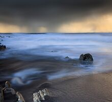 Moody Friday 2 - Red Strand Ireland by Pascal Lee