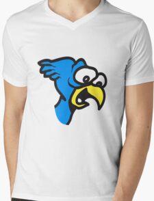 Bird funny animal cool nature funny comic Mens V-Neck T-Shirt