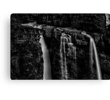 Upper Falls at Johnston Canyon - Banff National Park, Alberta Canvas Print