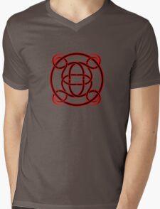 Celtic Woven Tattoo Mens V-Neck T-Shirt
