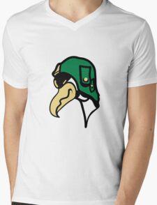 Bird funny animal cool Vulture comic Mens V-Neck T-Shirt