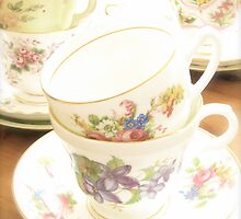 China Tea Cups II by abbywerschler
