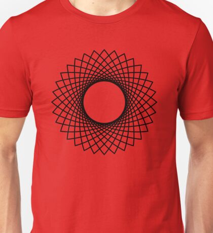 Trippy Star Circle Unisex T-Shirt