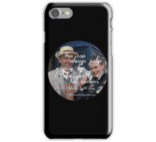 Sylvestor McCoy iPhone Case/Skin