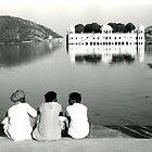 Lake near Jaipur, India by paulsborrett